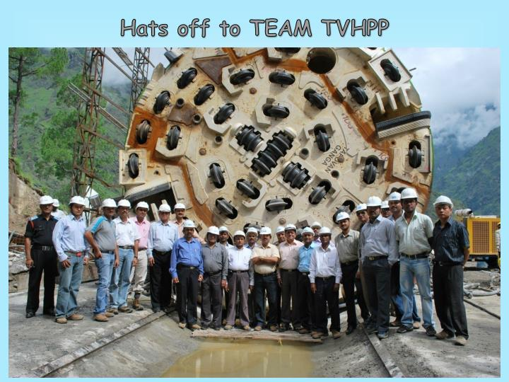 Hats off to TEAM TVHPP