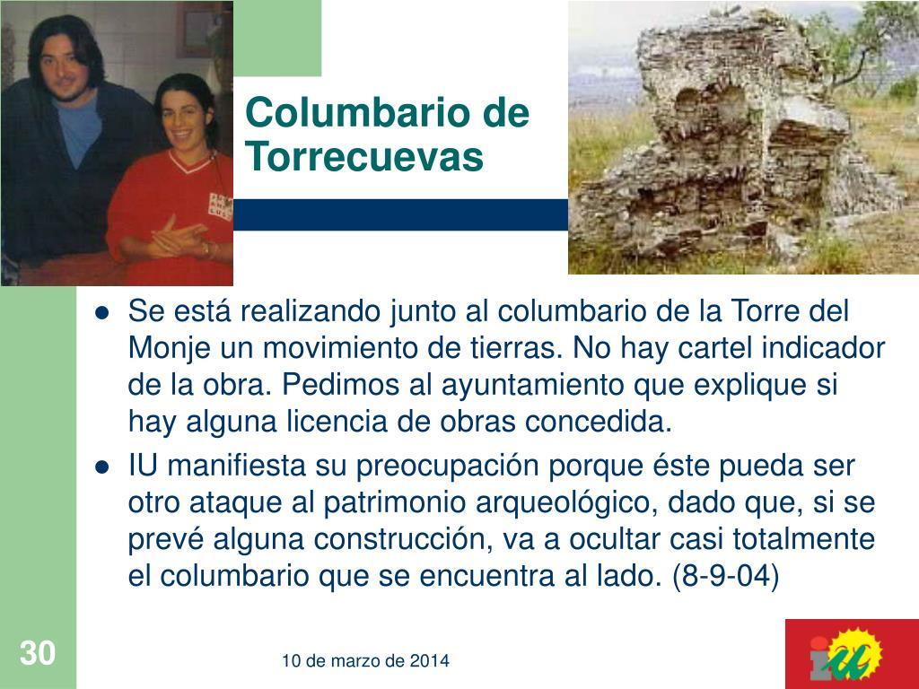Columbario de Torrecuevas