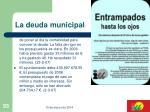 la deuda municipal93