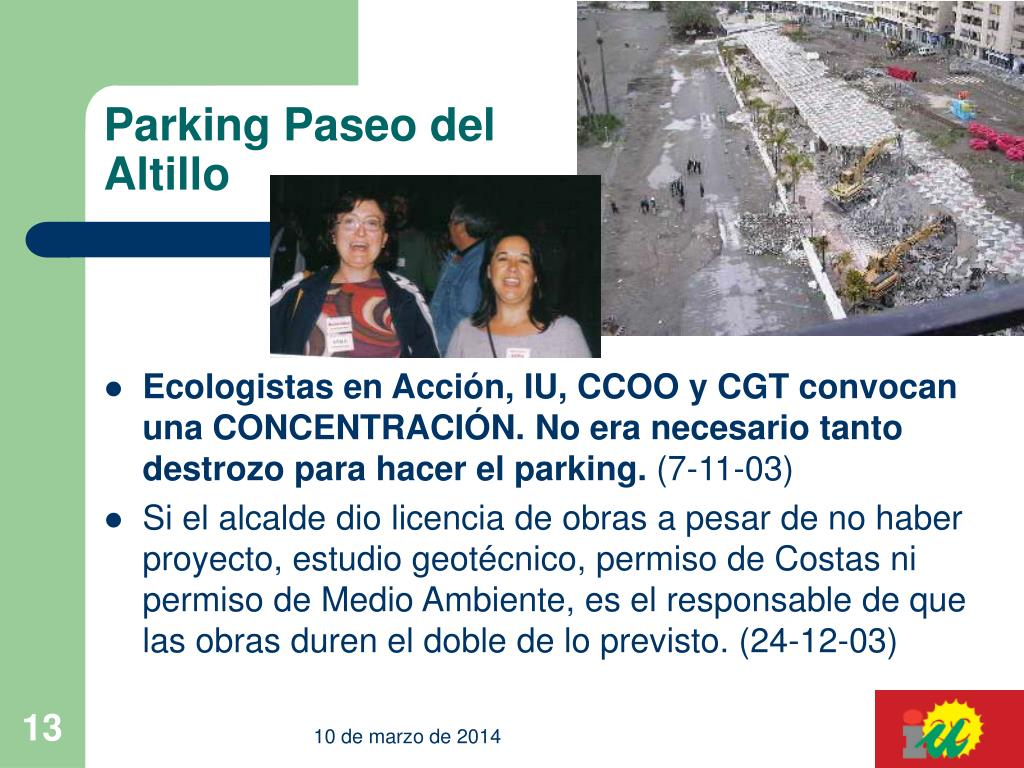 Parking Paseo del Altillo