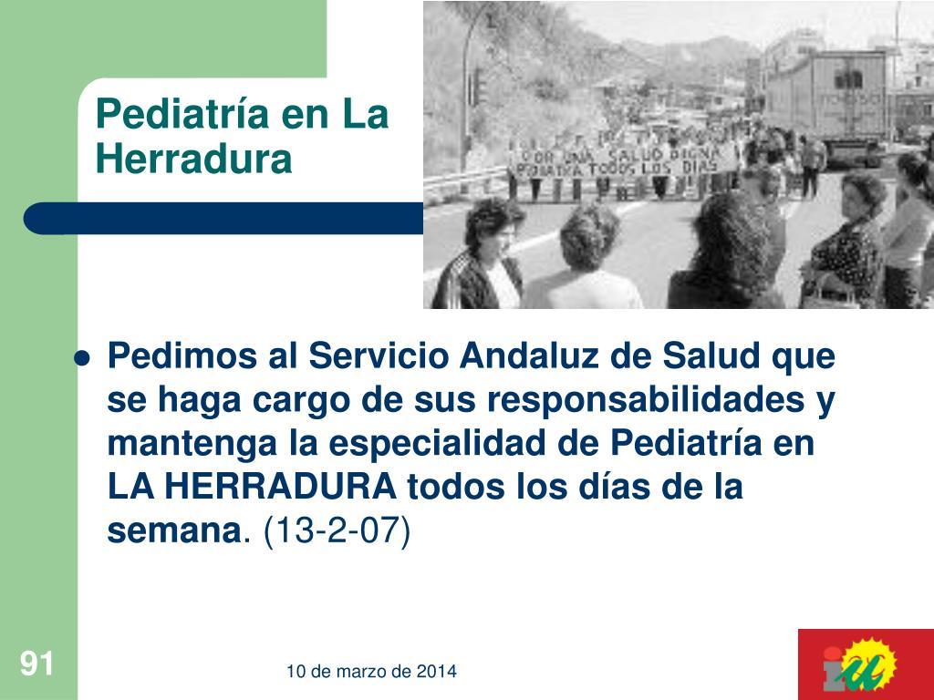 Pediatría en La Herradura