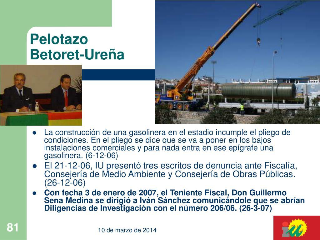 Pelotazo Betoret-Ureña