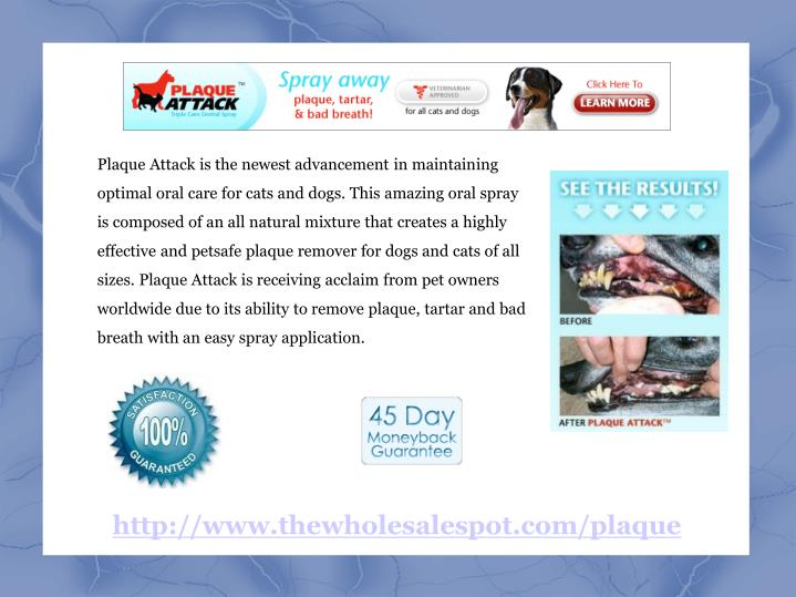Plaque Attack is the newest advancement in maintaining optimal oral care for cats and dogs. This ama...