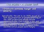 the mdgs a closer look