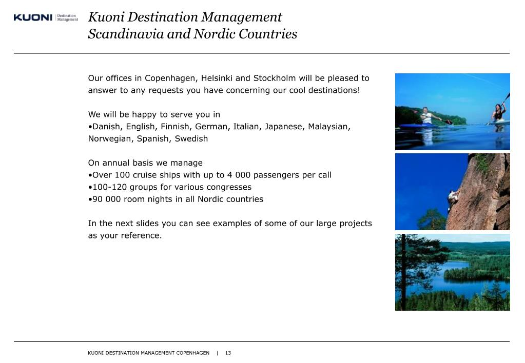 Kuoni Destination Management