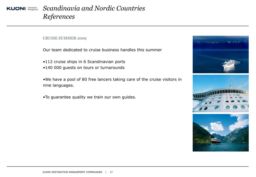 Scandinavia and Nordic Countries