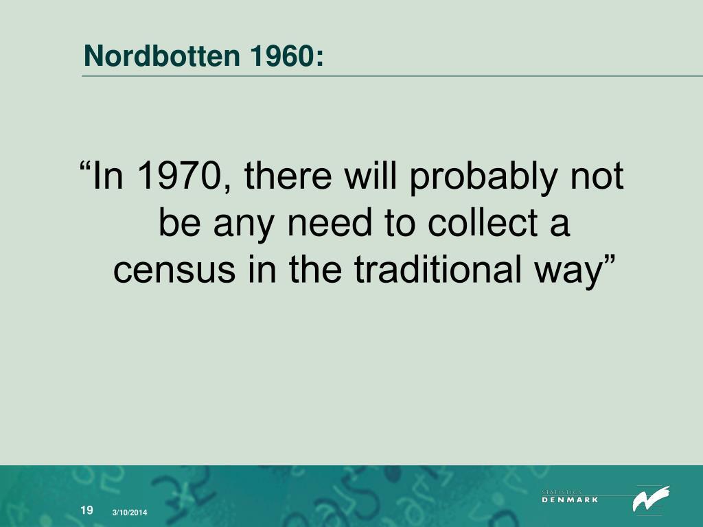 Nordbotten 1960: