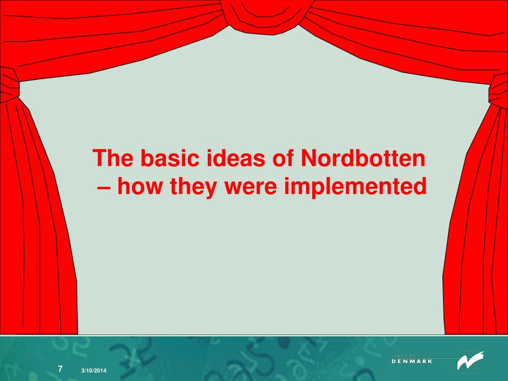 The basic ideas of Nordbotten