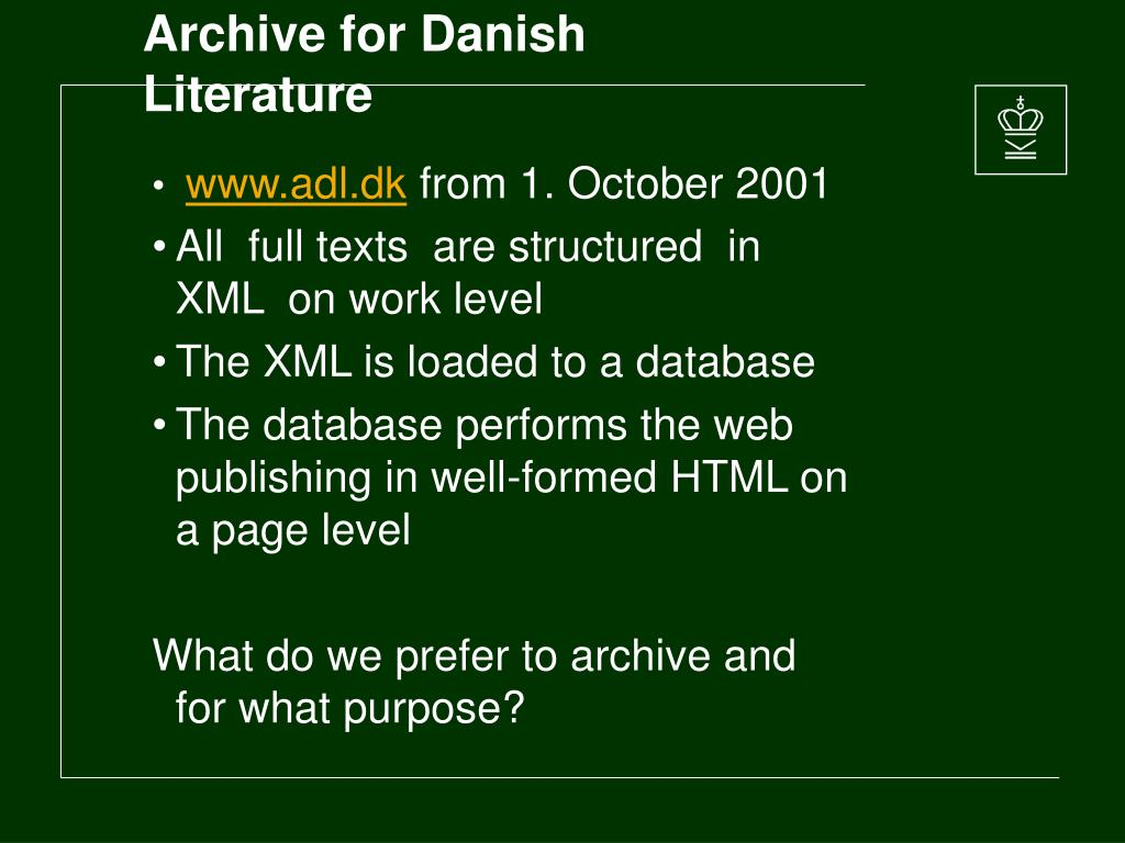 Archive for Danish Literature