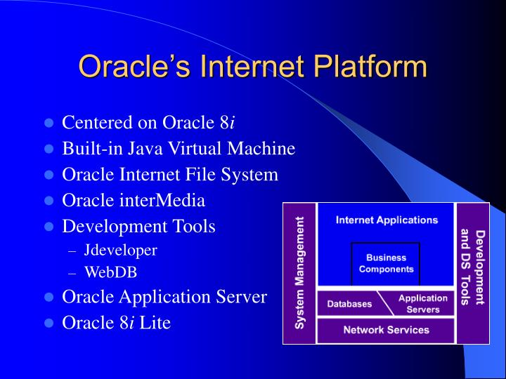 Oracle's Internet Platform