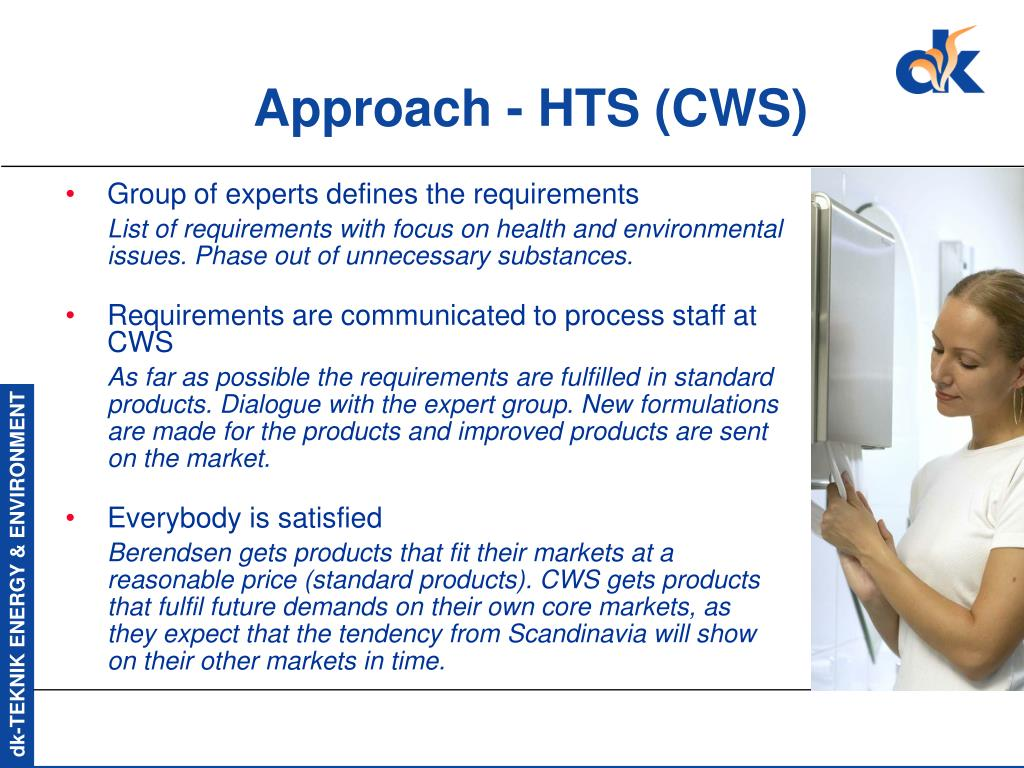 Approach - HTS (CWS)