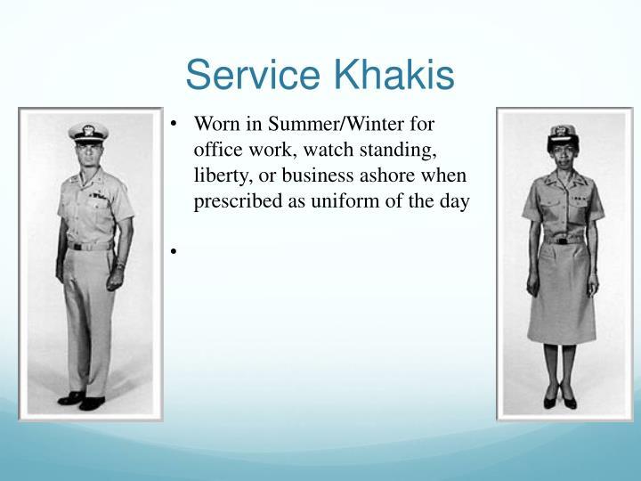 Service Khakis