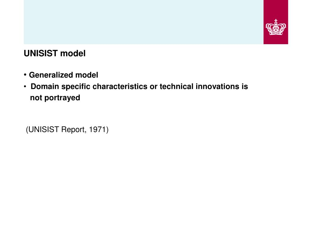 UNISIST model