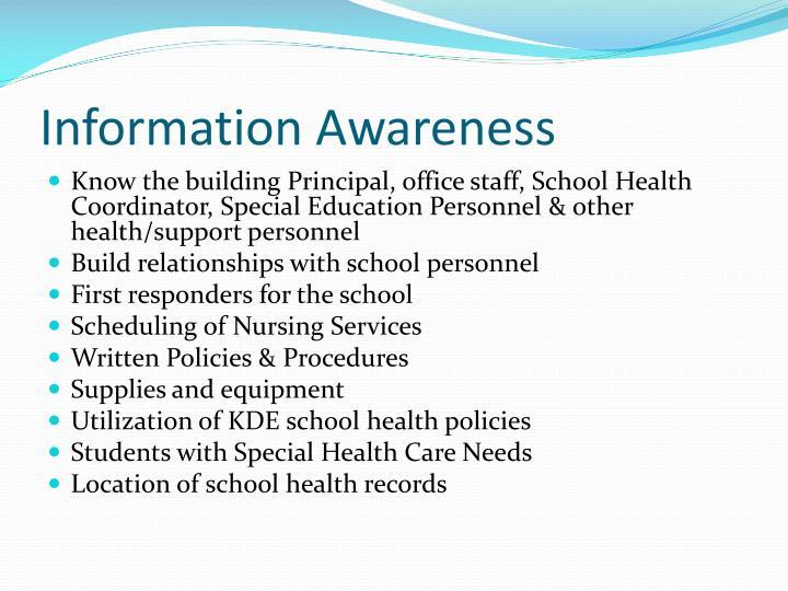 Information Awareness
