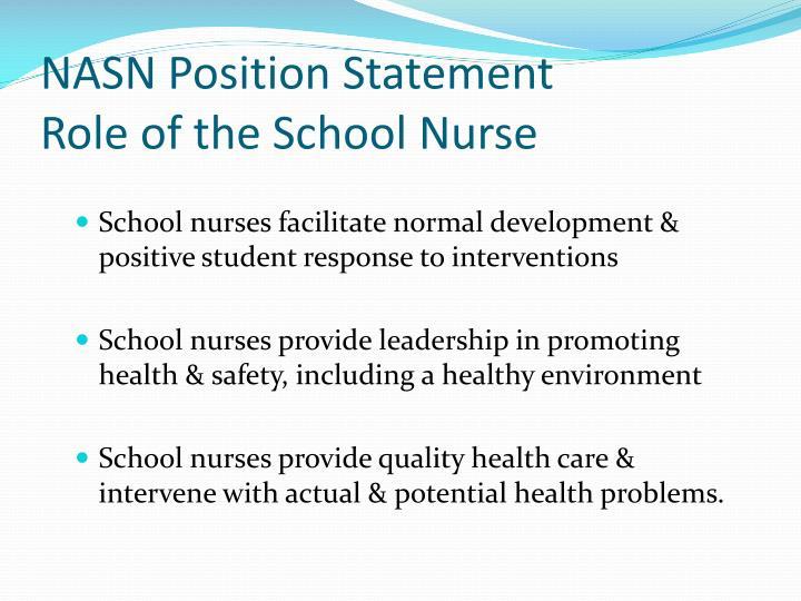 NASN Position Statement