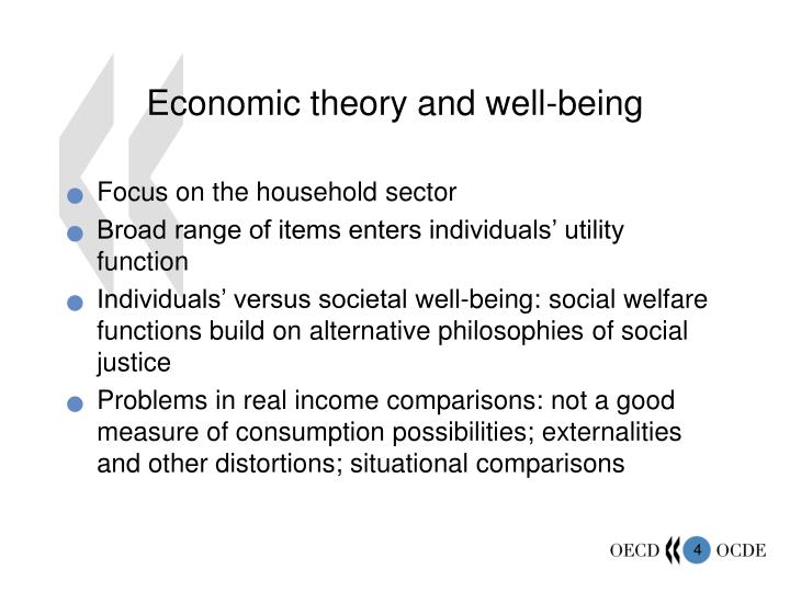 Economic theory and well-being