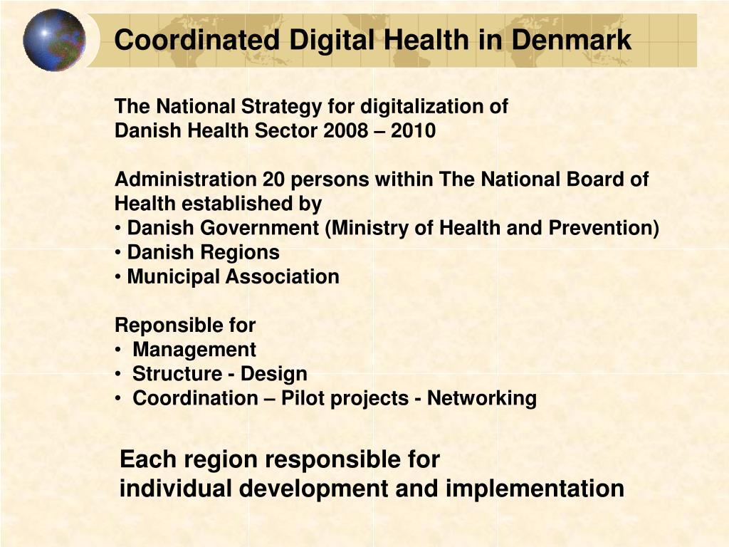 Coordinated Digital Health in Denmark
