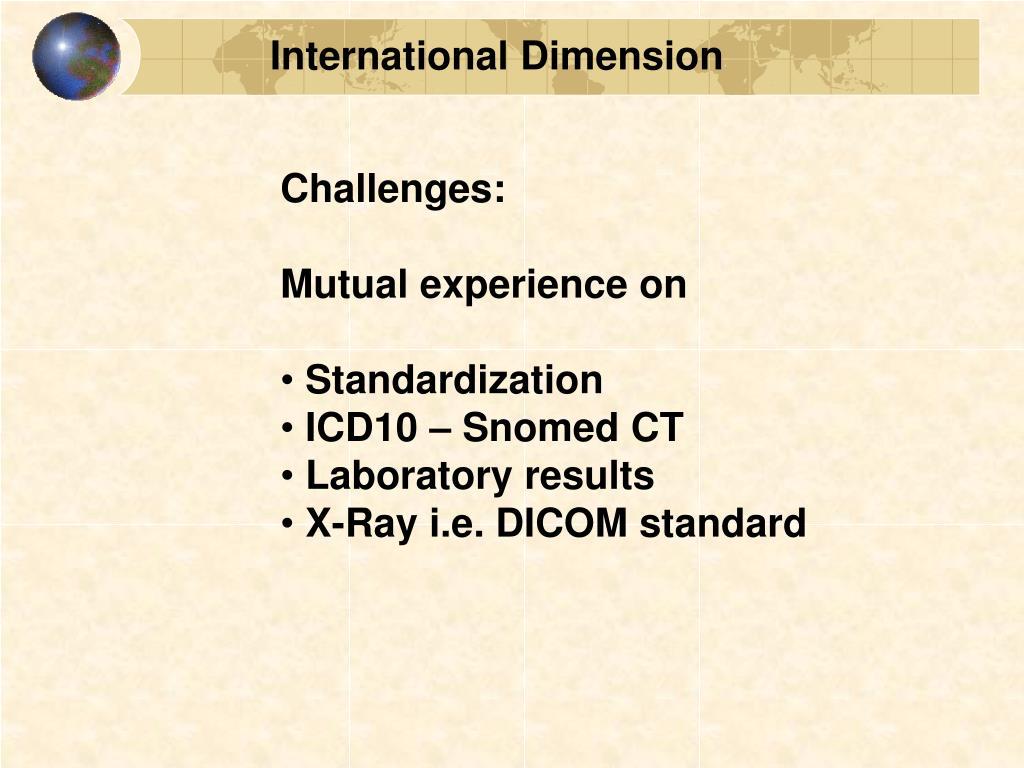 International Dimension