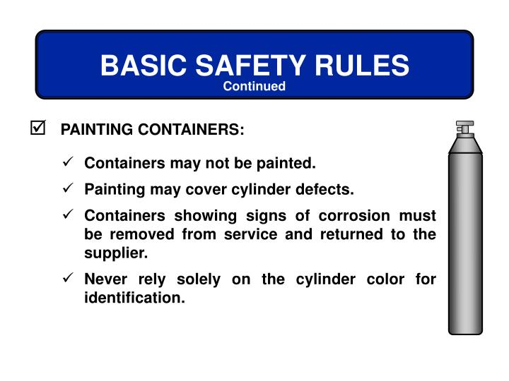 PAINTING CONTAINERS: