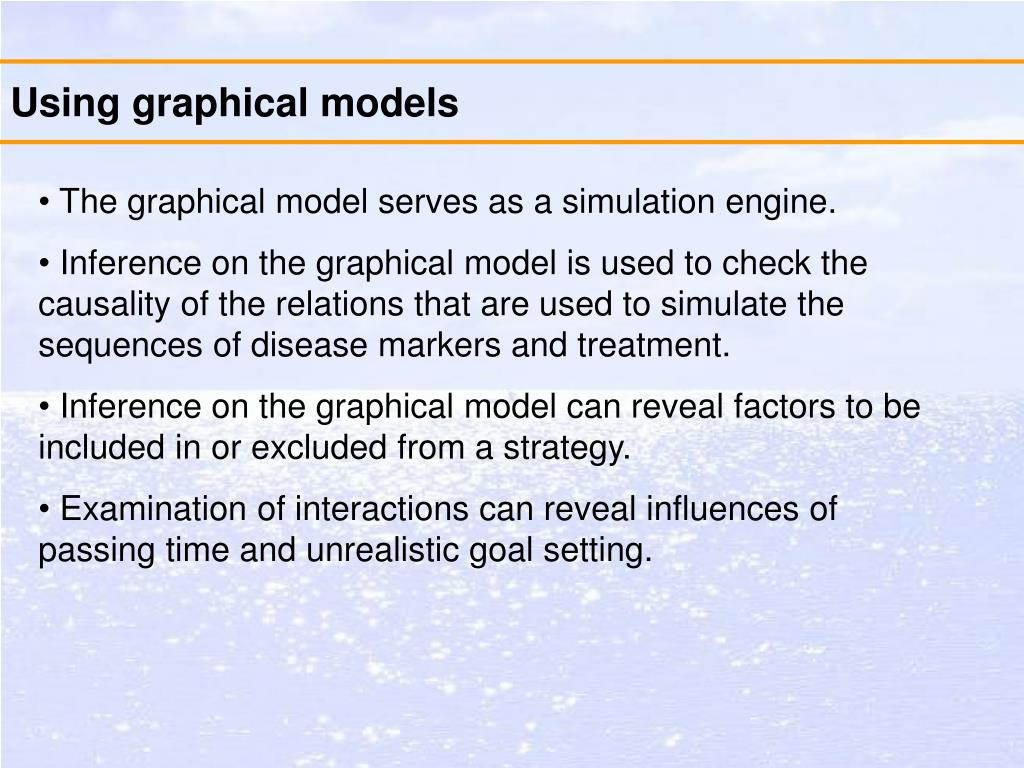 Using graphical models