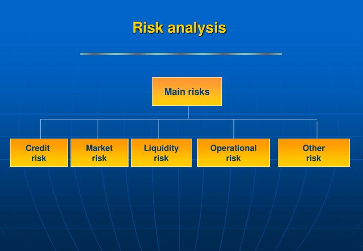 Main risks