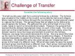 challenge of transfer52