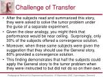 challenge of transfer53