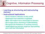 cognitive information processing58