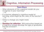 cognitive information processing63