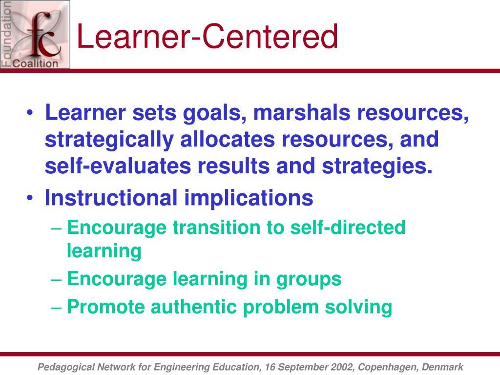 Learner-Centered