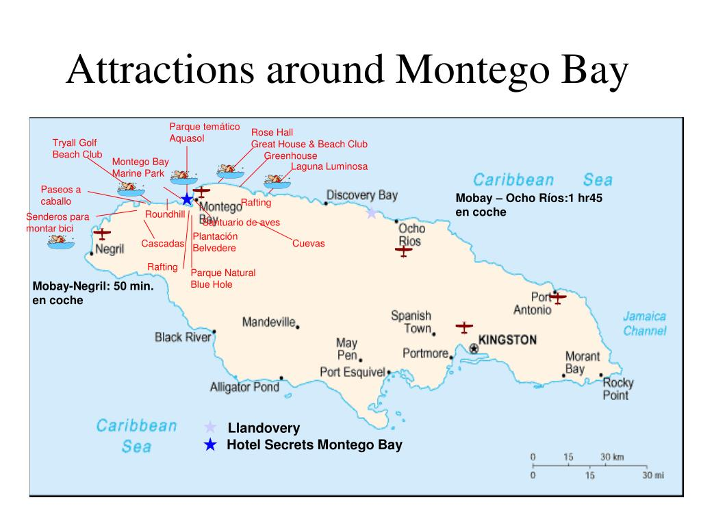 Attractions around Montego Bay