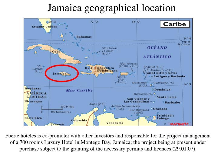 Jamaica geographical location