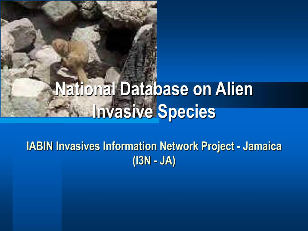 National Database on Alien Invasive Species