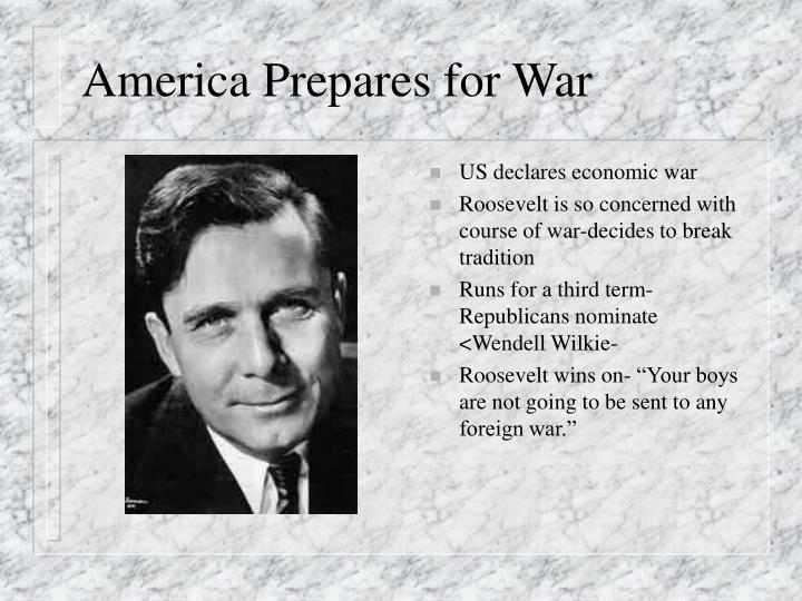 America Prepares for War