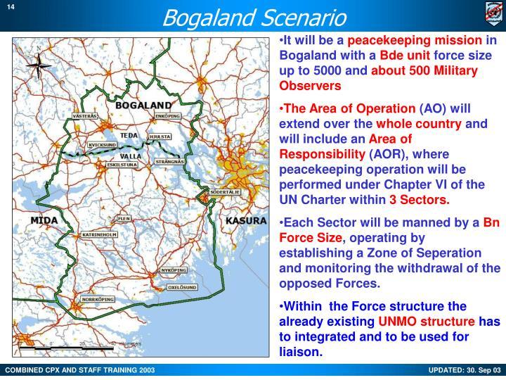 Bogaland Scenario