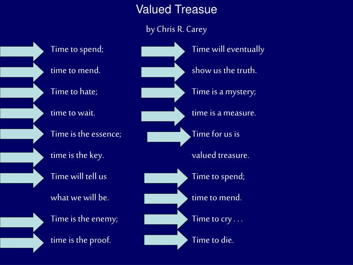Valued Treasue