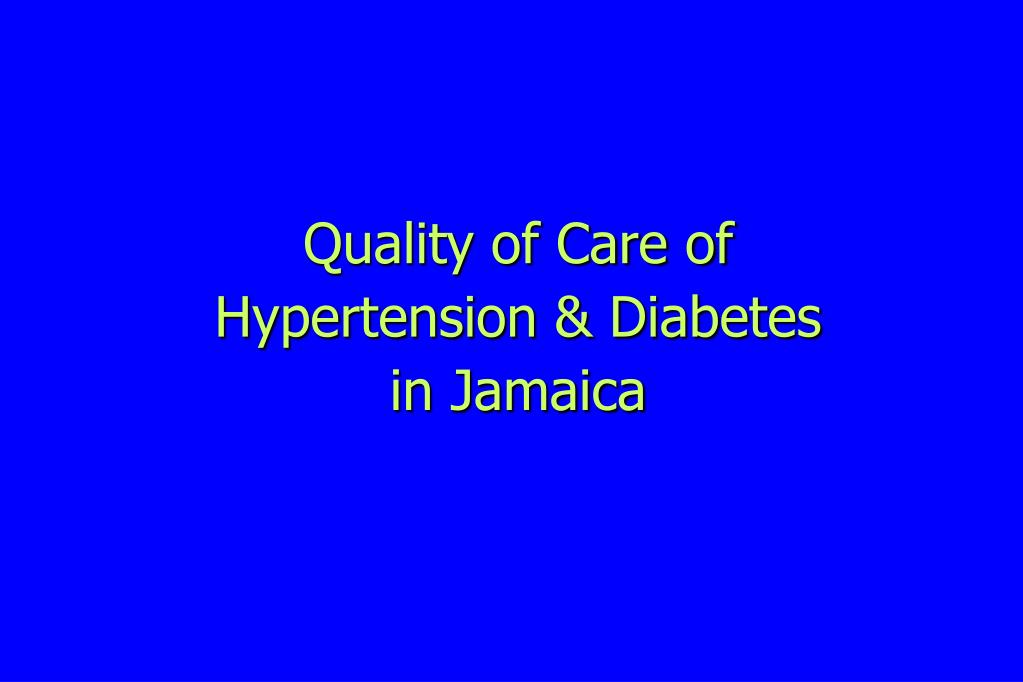 Quality of Care of