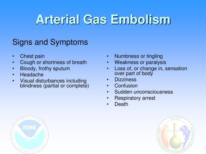 Arterial Gas Embolism