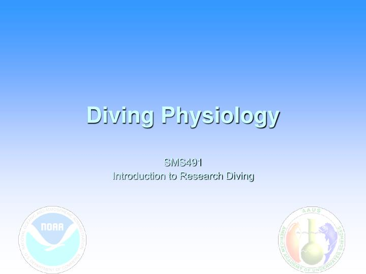 Diving physiology
