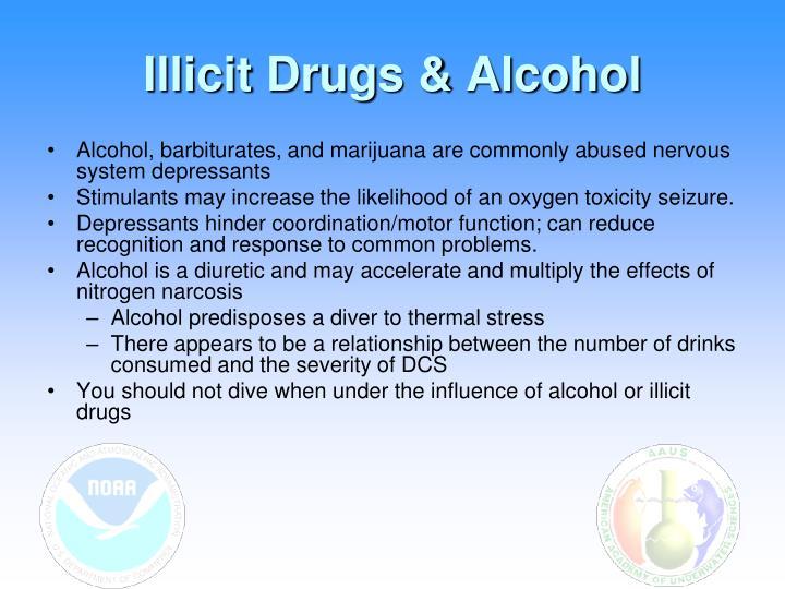 Illicit Drugs & Alcohol