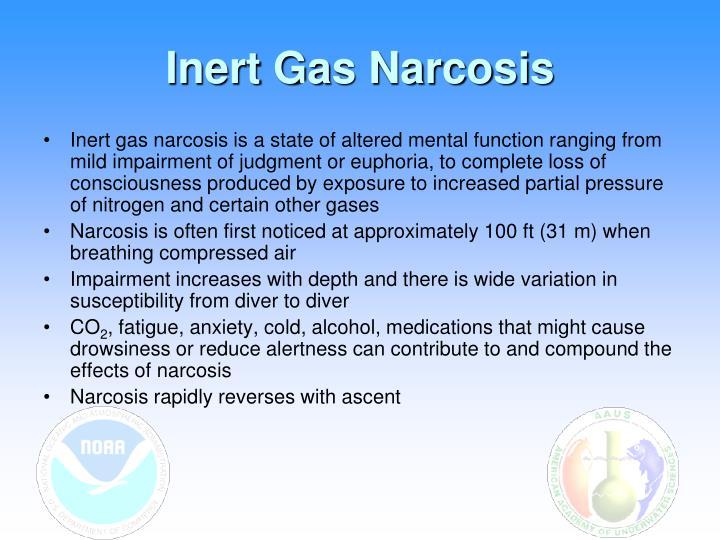 Inert Gas Narcosis