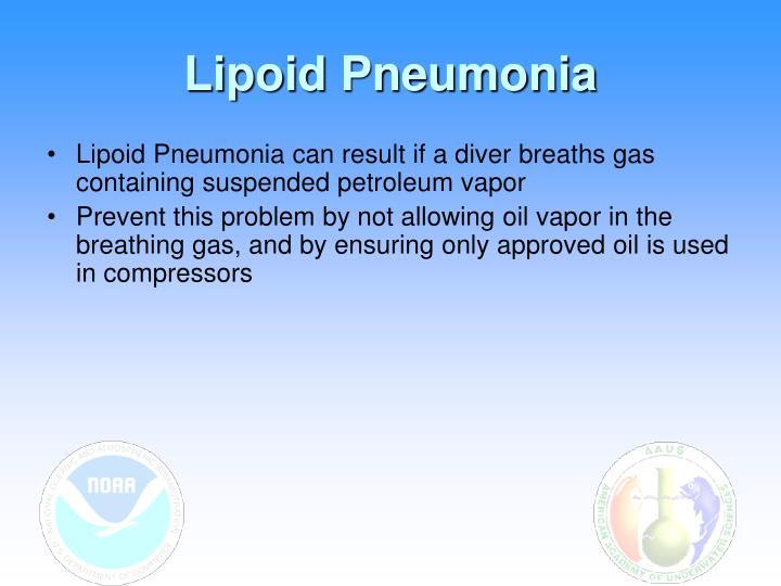 Lipoid Pneumonia