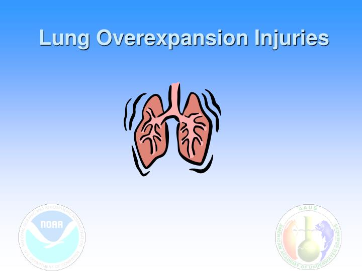 Lung Overexpansion Injuries