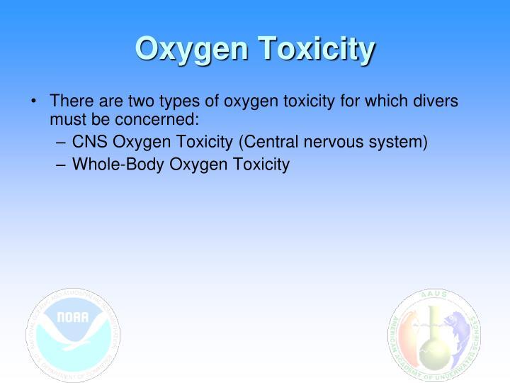 Oxygen Toxicity