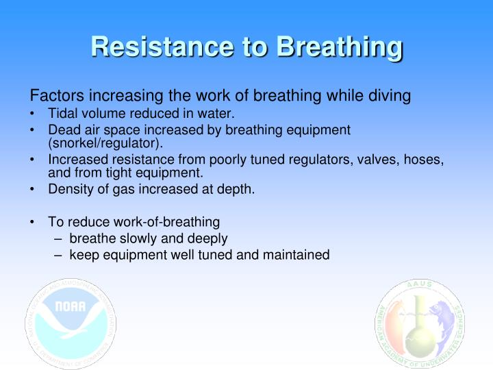 Resistance to Breathing