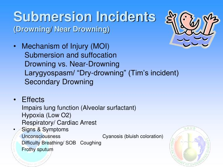 Submersion Incidents