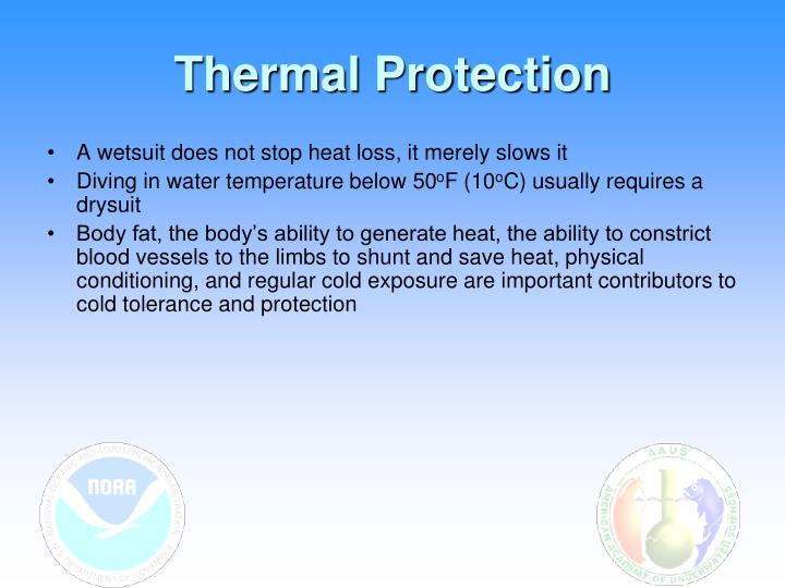 Thermal Protection