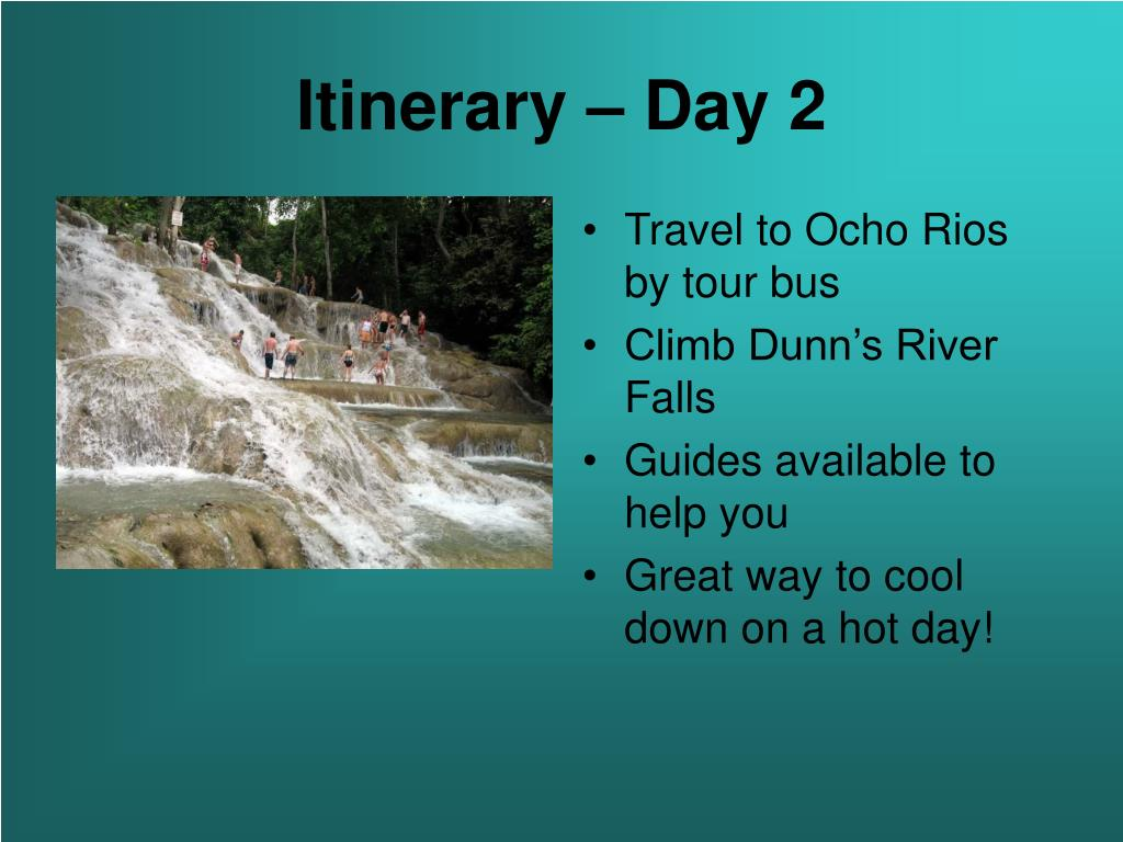 Itinerary – Day 2