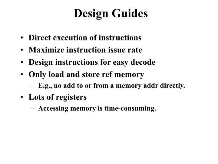 Design Guides