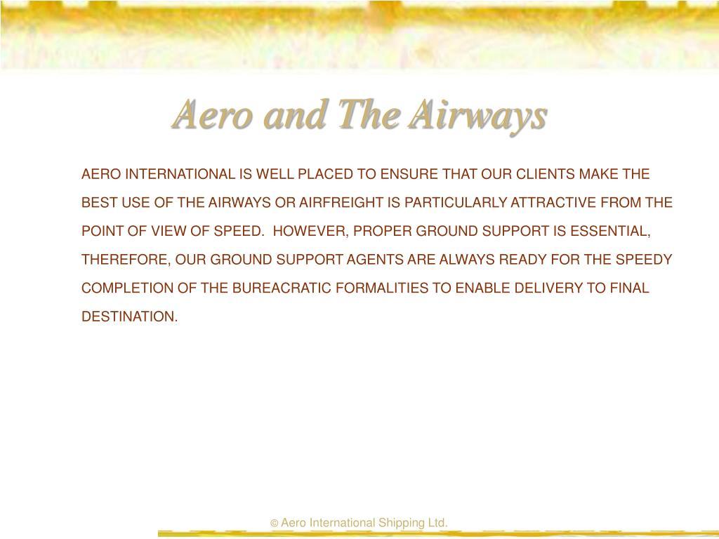 Aero and The Airways